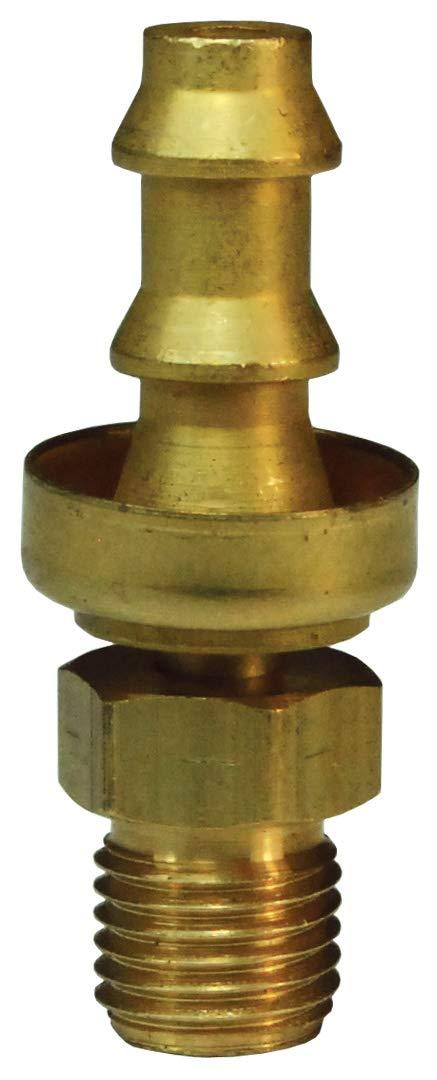 Dixon 2900608CBC LOKON SAE INV.FL.M SWV 3//8X 1//2-20 w//Brass Cap