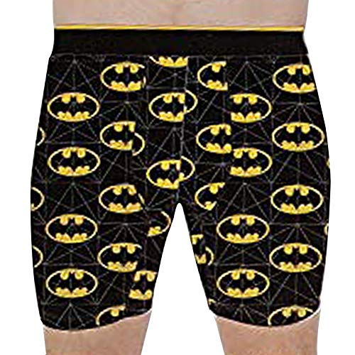 Bioworld Men's All Over Batman Logo Print Boxer Briefs (XX-Large), ()
