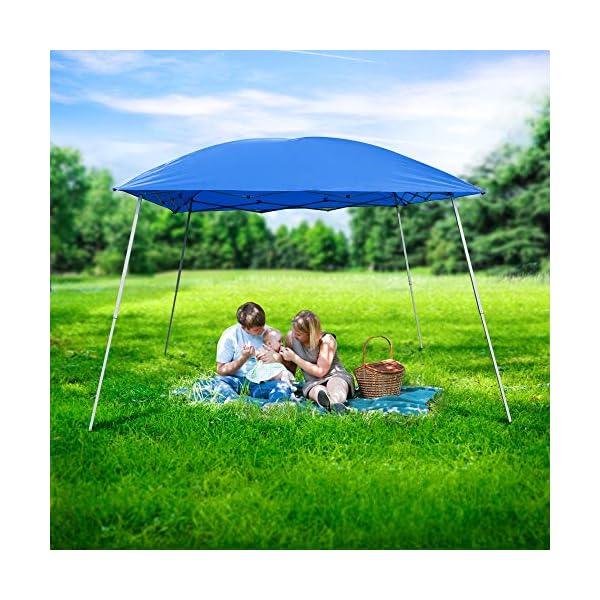 51p6c8UkZjL Gutgojo Pavillon 2.4×2.4m Faltzelt Sonnenschutz Wasserdicht Gartenzelt Sehr Einfache Montage, Wasser Nicht Leicht…