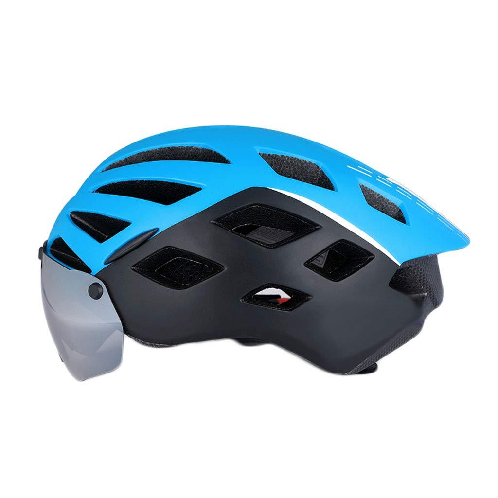 JBHURF Fahrradhelm Integrierte Formung Magnetische Schutzbrille Mountain Road Bike Safety Helmausrüstung