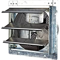 Iliving ILG8SF12V Wall-Mounted Variable Speed Shutter Exhaust Fan, 12'
