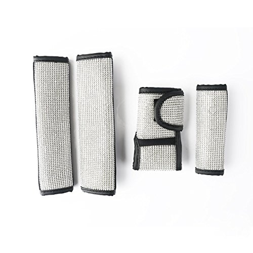 Sino Banyan Seat Belt Cover Car Handbrake Cover Gear Shift Case 4PCS