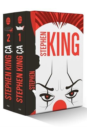 Ça (Coffret 2 tomes) Coffret produits – 2 novembre 2017 Stephen King Le Livre de Poche 2253083364 Fantastique
