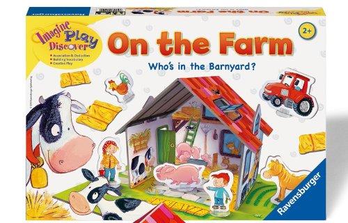 Ravensburger On The Farm Children's Game