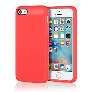 Amazon.com: Incipio NGP para iPhone 5/5S, Rojo traslúcido ...