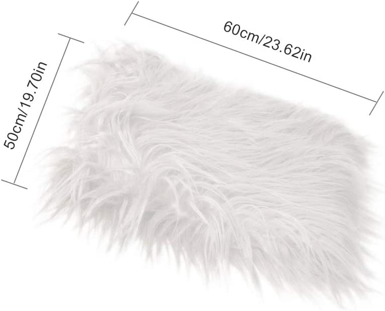 White Soft Fur Wrap Quilt Photographic Mat Newborn Baby Infant Photography Mat Wrap Blanket for Baby Shower Shot GObesty Baby Photo Props