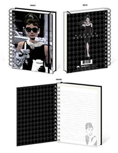 Audrey Hepburn Breakfast At Tiffanys Window 180 page Journal Notebook - Sunglasses Audrey Hepburn Tiffany