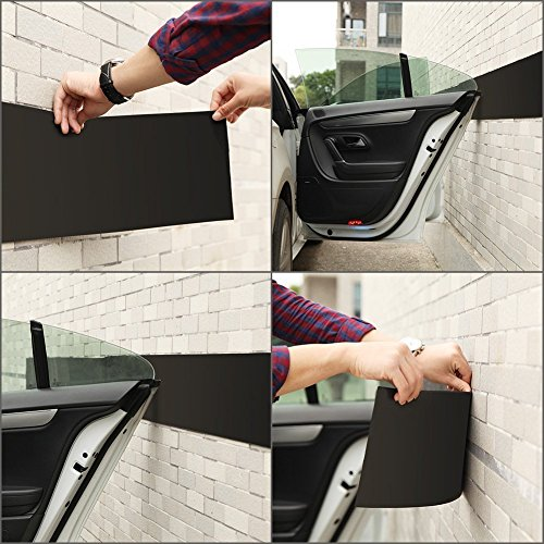 Ghb Garage Car Door Protector Garage Wall Guard 1 8 Quot Thick