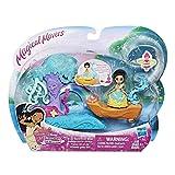 Disney Princess E2777E0072 Little Kingdom Magical Movers Pocahontas's River Bend Boat Ride Playset