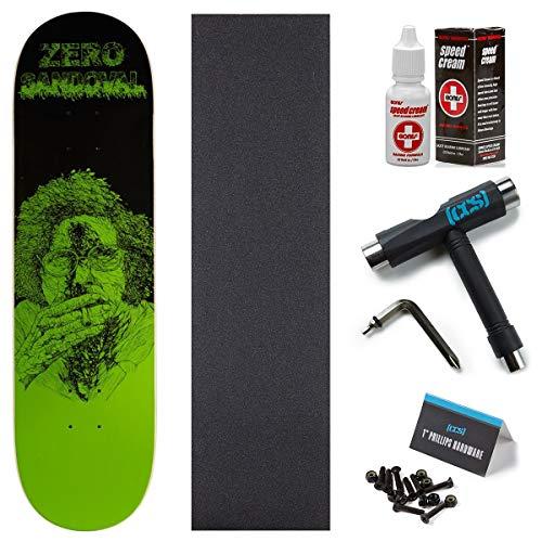 Zero Zombie Sandoval Skateboard Deck - 8.125