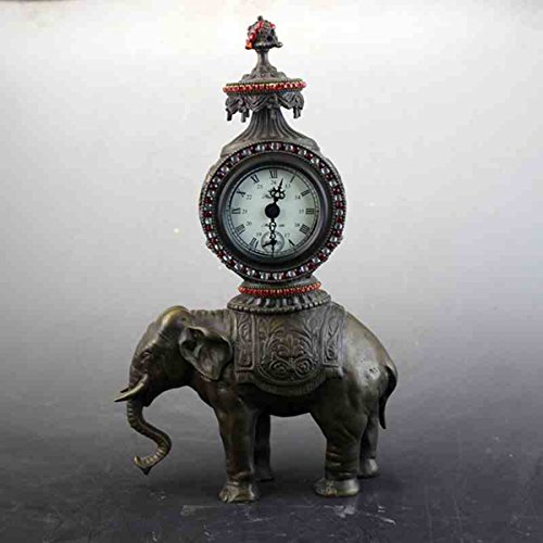 Exquisite Binaural Sheep decorate Mechanics copper Watch classical Decoration by Sunmir
