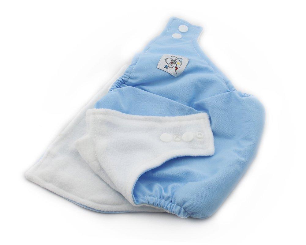 Baby Stoffwindel Windel /Überhose Gr/ö/ße verstellbar Windelhose Einstellbare Gr/ö/ße 3-13kg Blau