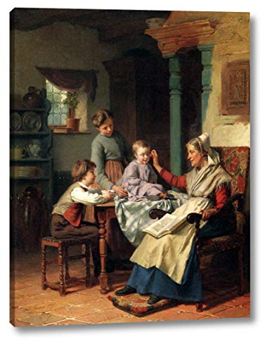 Trying On Grandmother's Spectacles by Theodore Gerard - 8