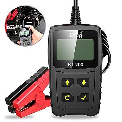 JDiag BT200 Universal 12V Battery Analyzer Digital Tester Detect Bad Cell Test by JDiag
