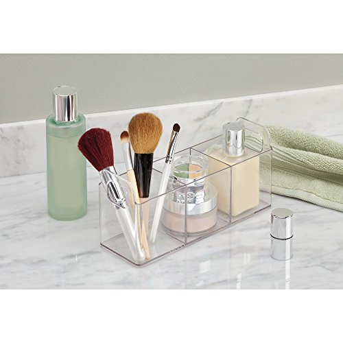 Interdesign clarity cosmetic organizer tote for vanity or for Perfect kitchen sharjah