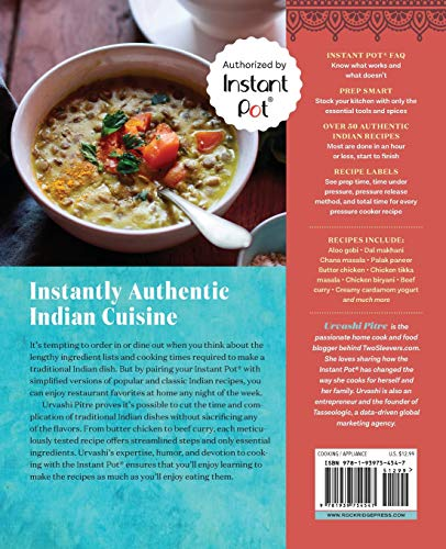 Indian Instant Pot Cookbook: Traditional Indian Dishes Made Easy and Fast - smallkitchenideas.us