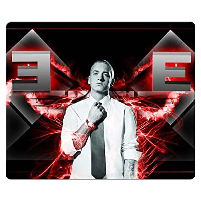 30x25cm 12x10inch personal gaming mousepad accurate cloth natural rubber Mouse Pad Perfect Eminem