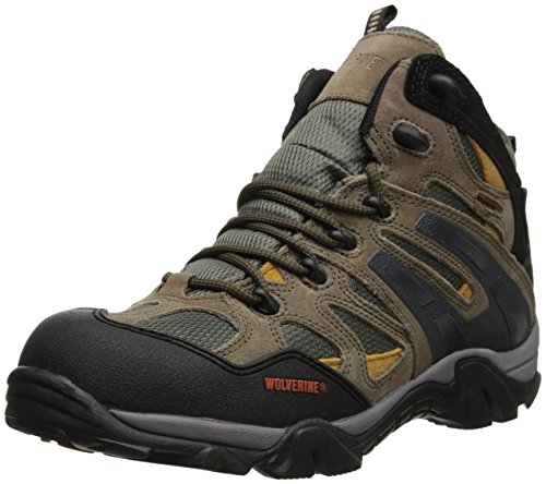 (Wolverine Men's W05745 Wilderness Gunmetal-M, Grey, 10 M US)