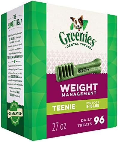Dog Treats: Greenies Weight Management Teenie