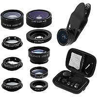 Phone Camera Lens Kit, 9 in 1 Zoom Universal Telephoto...
