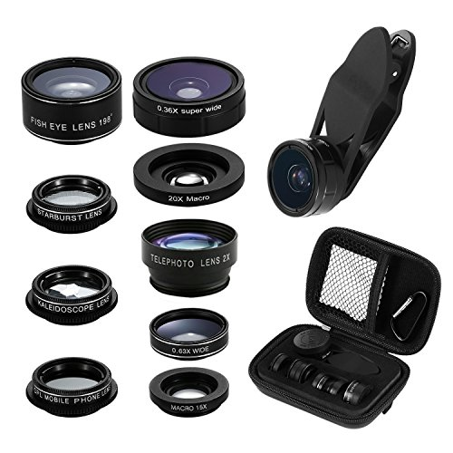Smart Phone Camera Lens Kit, 9 in 1