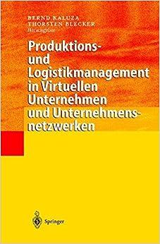 Book Produktions- und Logistikmanagement in Virtuellen Unternehmen und Unternehmensnetzwerken