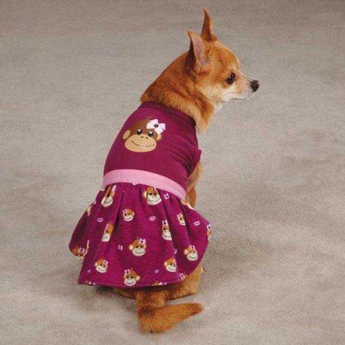 Monkey Business Dog Dress Size: Small, My Pet Supplies