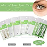 Best Eyelid Tapes - 1456Pcs/6Packs/7Styles Eyelid Tapes Invisible Single/Double-Sided Sticky Double Stickers Review