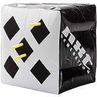 """Objetivo de caja inflable de 15 """"x 15"""" de NXT Generation: diseñado para dardos de espuma con punta de gancho y bucle y punta de succión - Adecuado para juegos en interiores y exteriores - Objetivos en dos lados - para niños de 5 años o más"""
