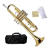 Tangkula Bb Beginner Trumpet Gold