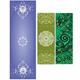 ASJ non-slip yoga towel, fitness towel, yoga mat - safe, durable, beautiful, portable - birthday gifts, holiday gifts