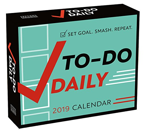 To-Do Daily 2019 Boxed Daily Calendar ()