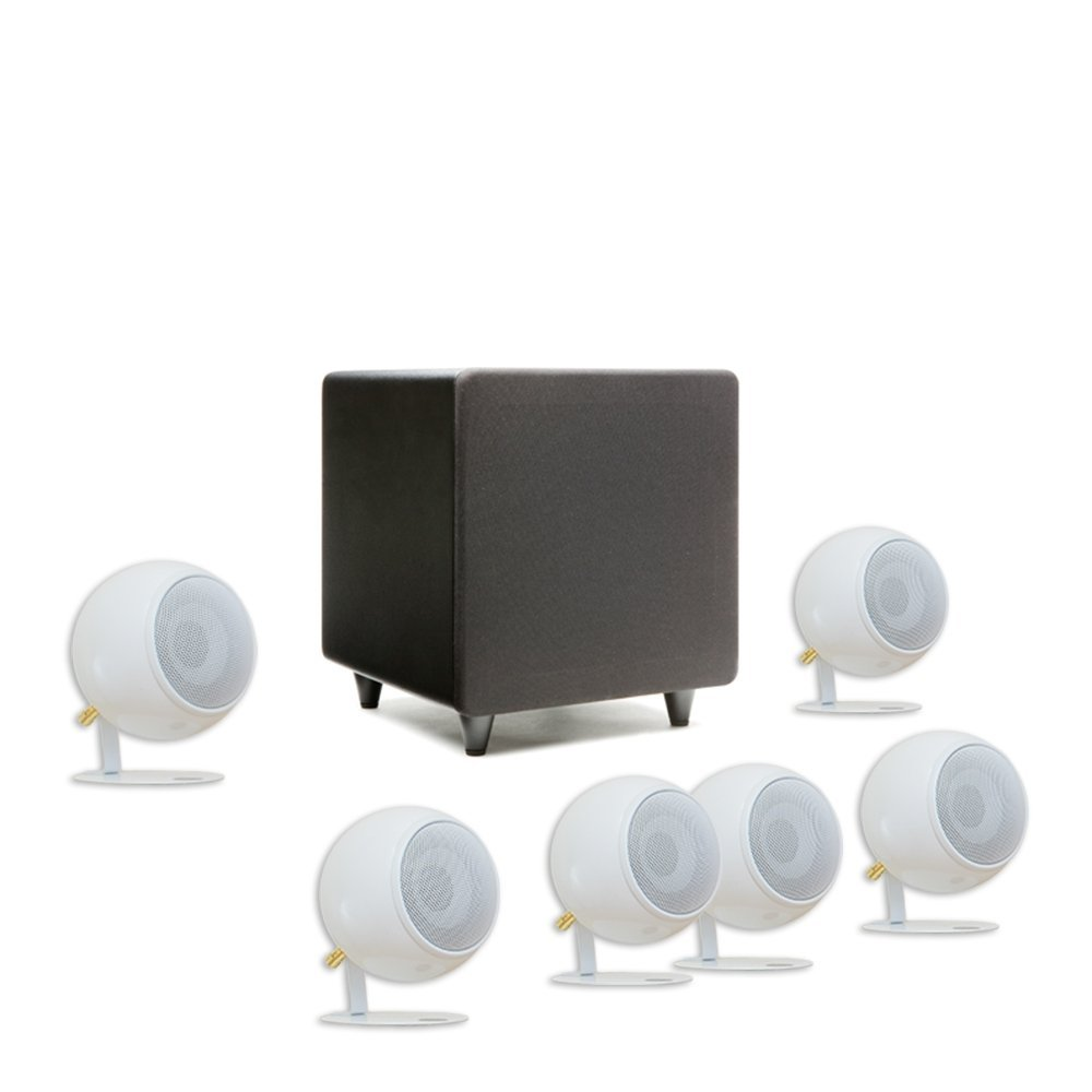 Orb Audio Mini 5.1 Plus - Pearl White Gloss by Orb Audio