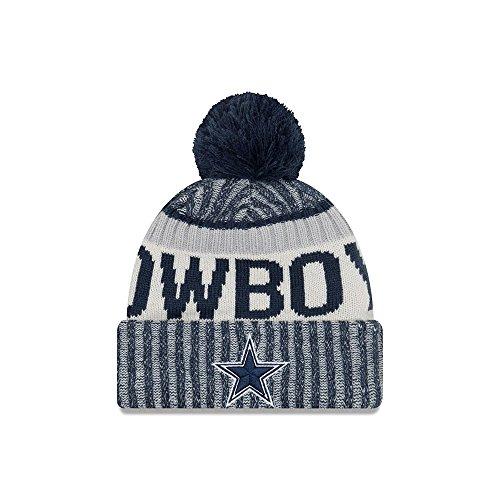 Philadelphia Eagles New Era 2017 On-Field Sport Knit Beanie Hat / Cap