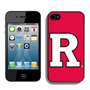 zeroCase NCAA Rutgers Scarlet Knights Iphone 4S or Iphone 4 Hard Cover Case 2014 Style