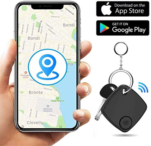 Key Finder-Key Finder Locator Smart Tracker Device with Application for Phone Keychain Wallet Luggage Bag-Anti-Lost Bluetooth Item Finder GPS Tracker