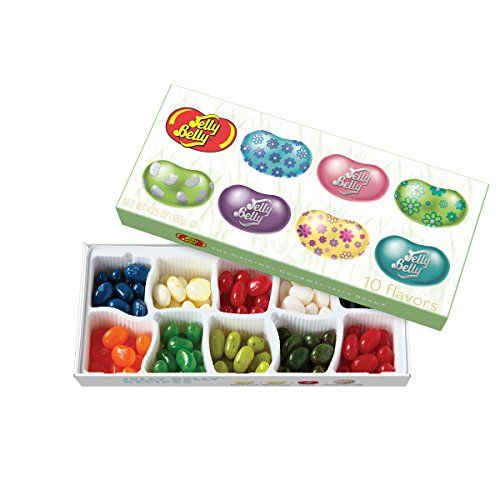 Review Jelly Belly 10-Flavor Spring Jelly Bean Gift Box 4.25oz