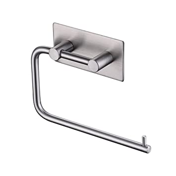 Kes Self Adhesive Toilet Paper Holder Stainless Steel Tissue Paper
