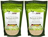 NOW Foods Organic Amaranth Grain - 1 lb - 2 pk