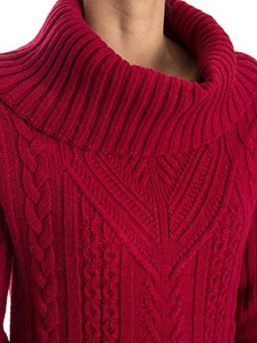Pinko Mujer BASUTOR58 Rojo Lana Jersey