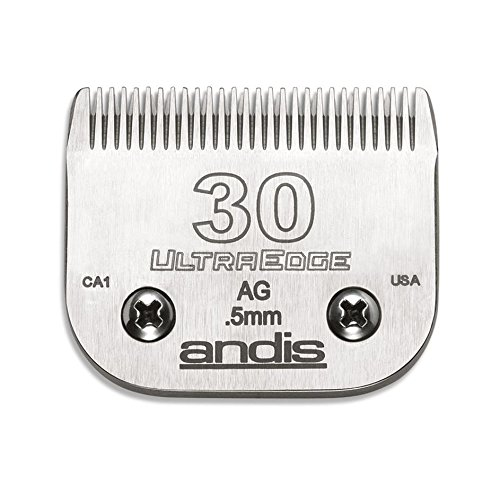 Price comparison product image Andis Carbon-Infused Steel UltraEdge Dog Clipper Blade, Size-30, 1/50-Inch Cut Length (64075)