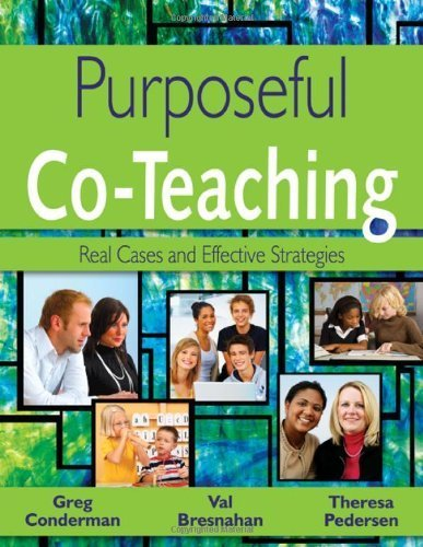 Purposeful Co-Teaching: Real Cases and Effective Strategies by Conderman, Gregory (Greg) J. (James), Bresnahan, Mary V. (Va (2008) Paperback