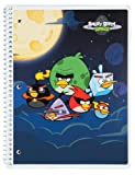 Mead Angry Birds Notebook, 10-1/2 x 7-1/2-Inches, 1-Subject, 80ct, CR, Black (72040)
