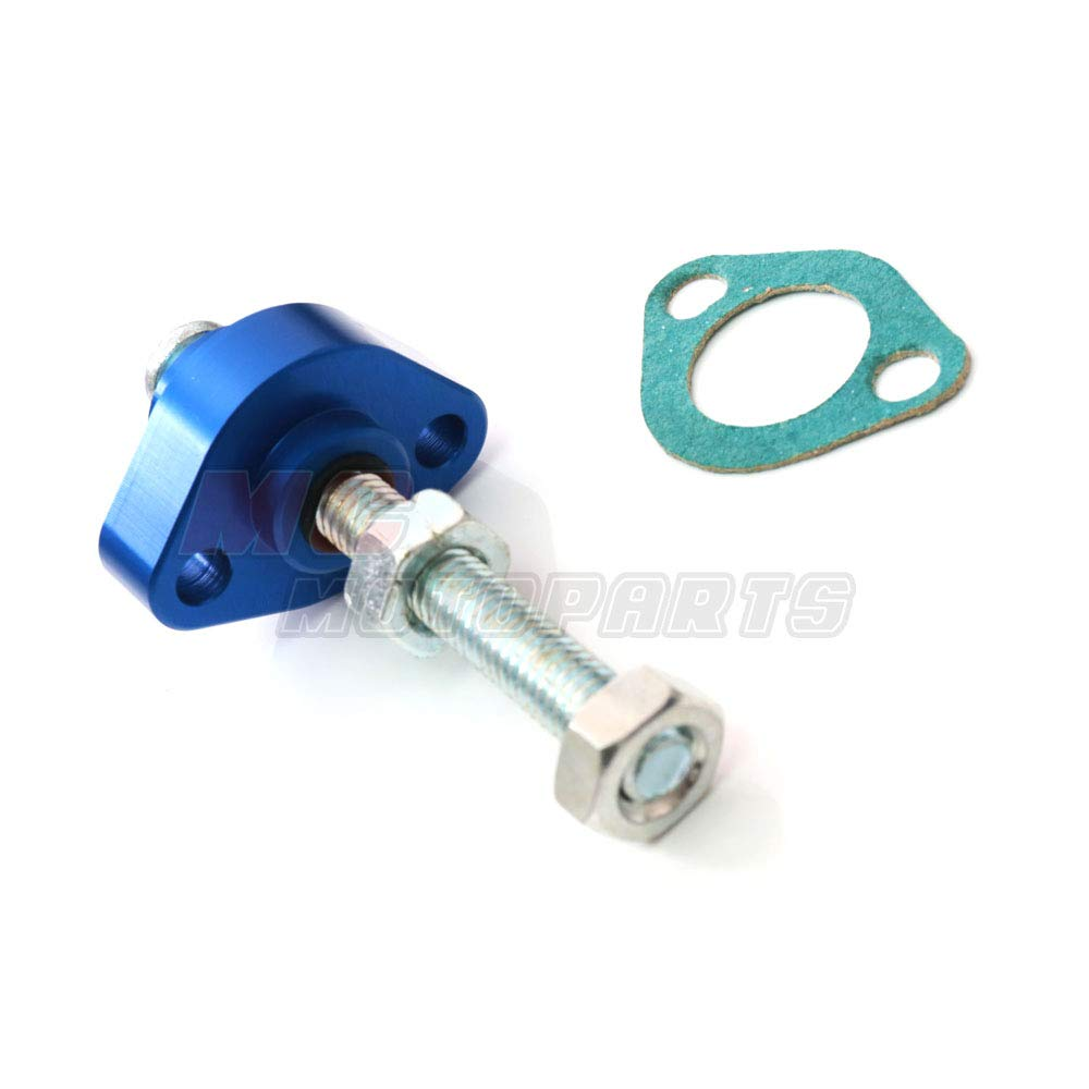 MC Motoparts Red CNC Manual Cam Chain Tensioner For Honda CBR600 F4 99-06 CB600F Hornet 04-06 CB 900F 02-07 CBR900RR