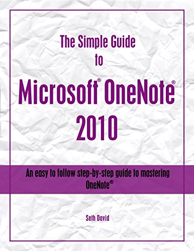 Download The Simple Guide to Microsoft® OneNote® 2010 Pdf