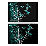 Aqua Tranquility Design Decal Skin Sticker for Microsoft Surface Pro 4 (Matte Satin)