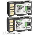 Kastar Battery 2-Pack for JVC BN-VF808 BN-VF808U and GZ-HD6 GZ-HD7 GZ-HD10 GZ-HD30 GZ-HD40 GZ-HD300 GZ-HD320 GZ-HM1 GZ-HM110 GZ-HM200 GZ-HM400 GZ-HM80 GZ-HM90 GZ-X900 GC-PX100 GC-P100 GC-PX1 GC-PX10