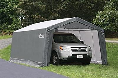 Shelter Giant 11220 x8' Instant Garage, 12'x20' , Grey