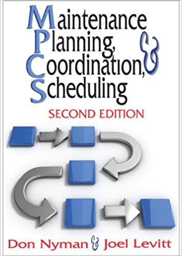 Book and scheduling maintenance planning