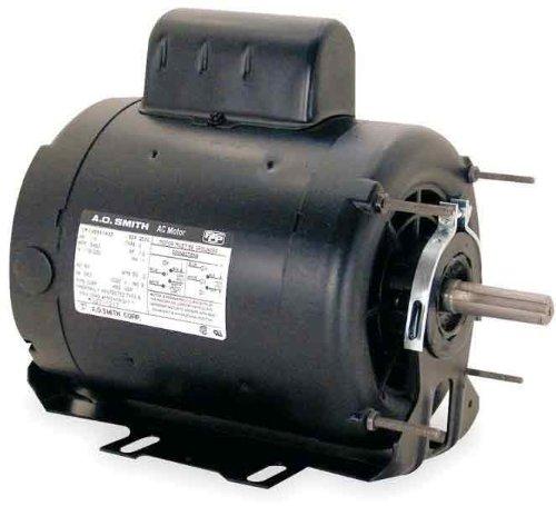 AO Smith C060 56 Frame 3/4 HP 1075 RPM 115 230-Volt 7.3-Amp Ball Bearing Cap Start - Bolt 56 Century Thru Frame